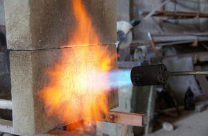 Стойкость бетона при пожаре