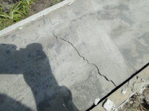 Процесс усадки бетона
